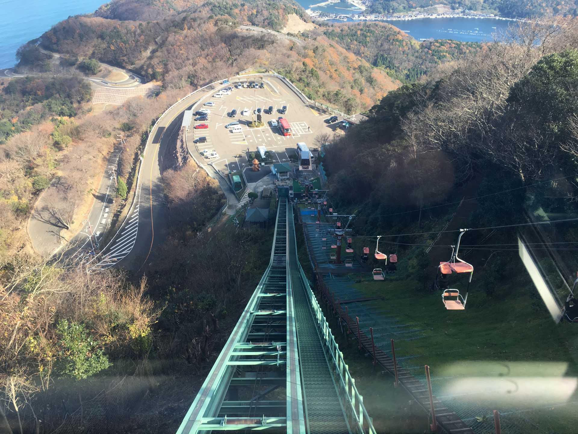 梅丈岳山頂公園 登頂纜車