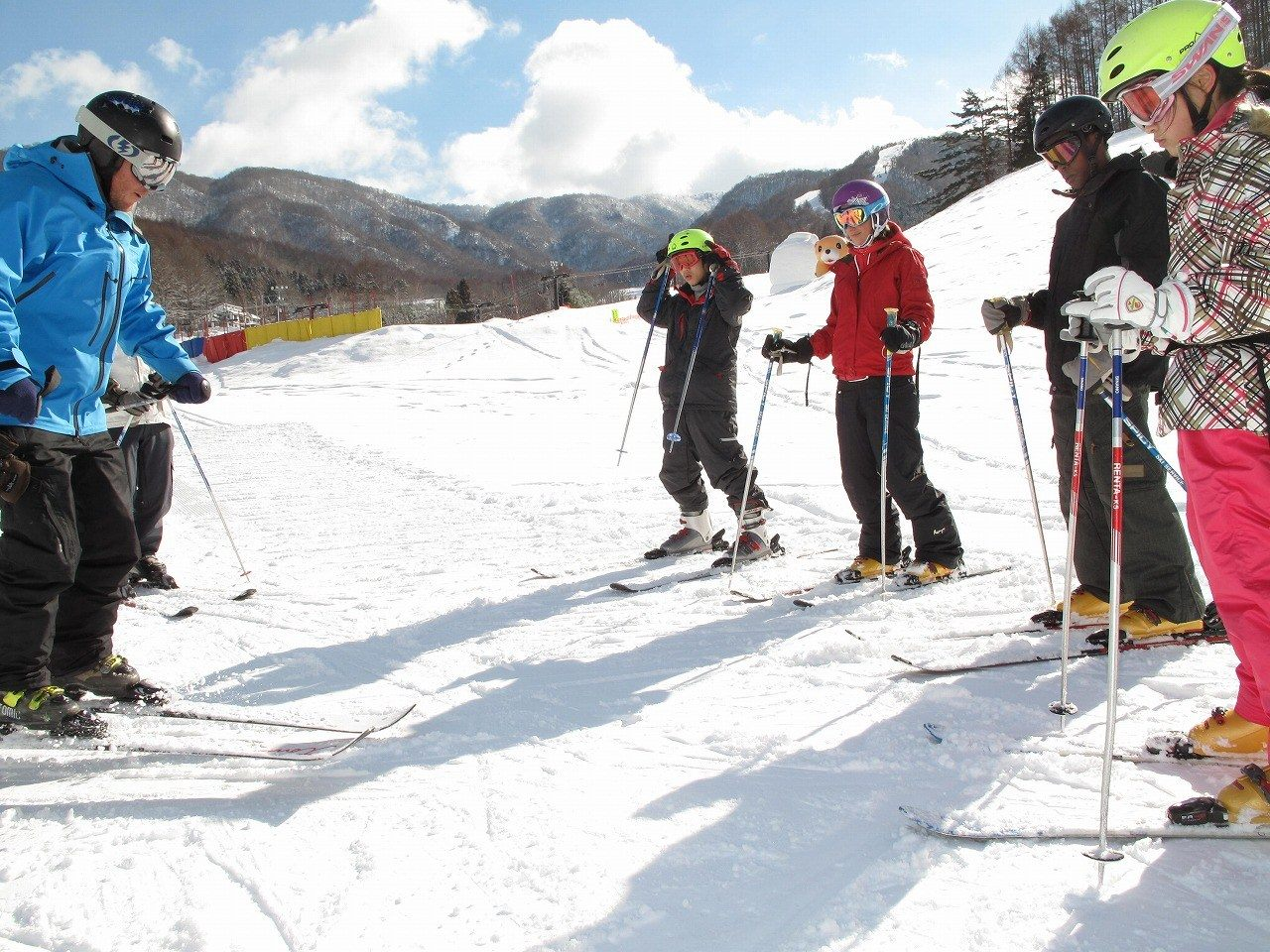 GALA Yuzawa Snow Resort offers lessons exclusive to foreign guests.