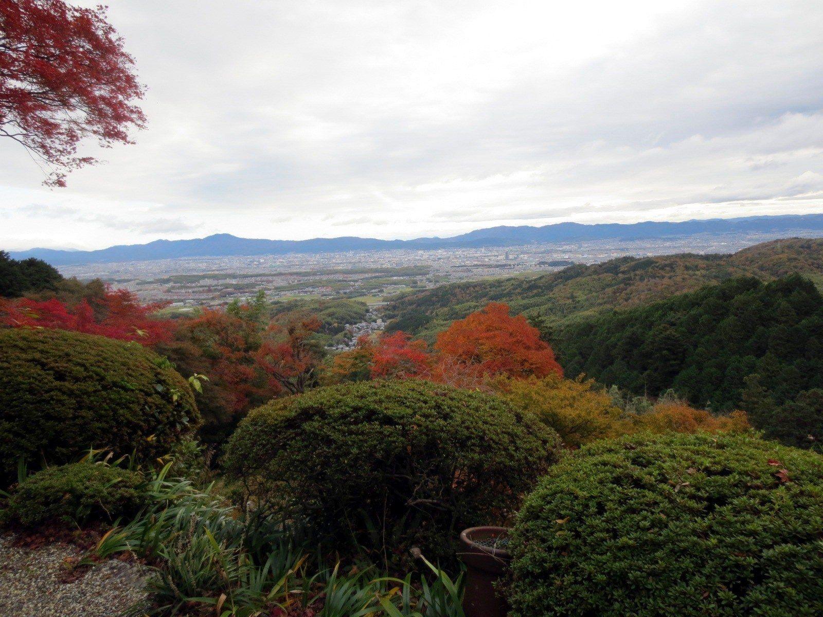 眺望京都街景