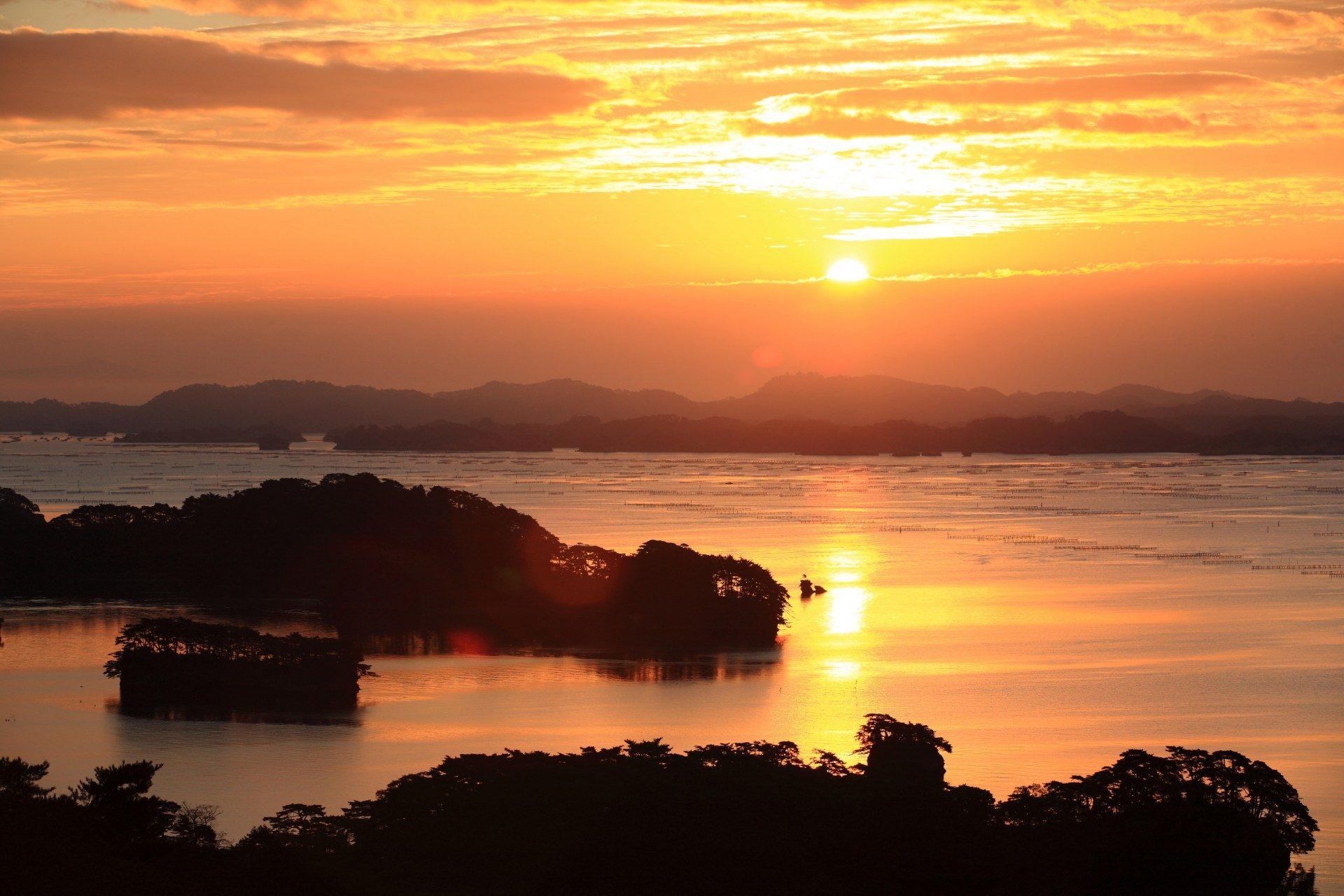 松島、日出