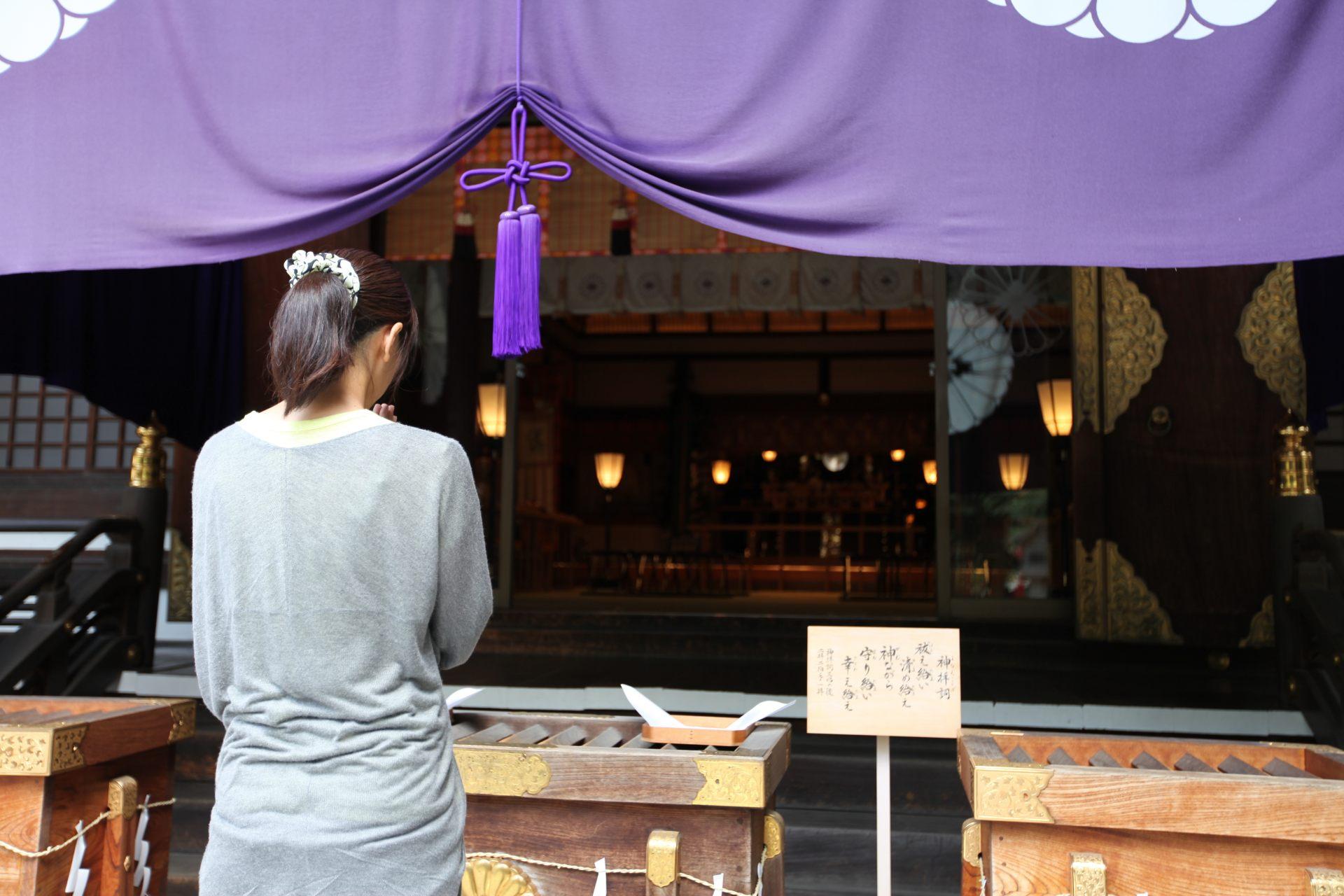 东京大神宫、恋爱、良缘、东京的伊势、能量景点、祈愿、御神签