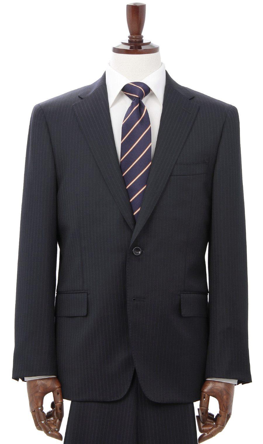 青山商事 推荐西装品牌:日本制的「HILTON」(99000日圆不含税)