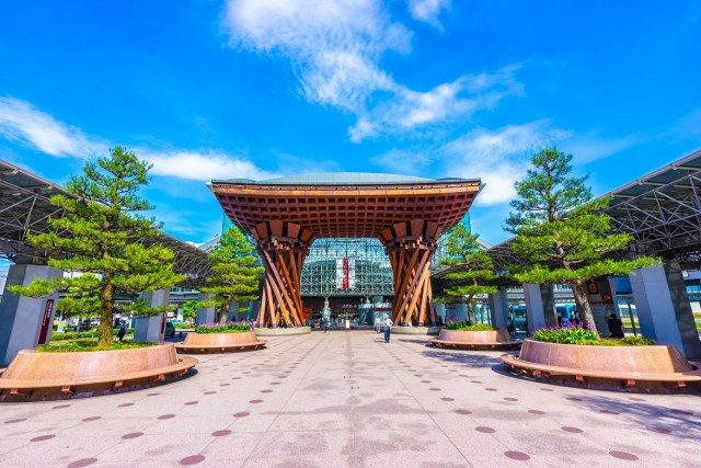 石川鄉 金澤車站