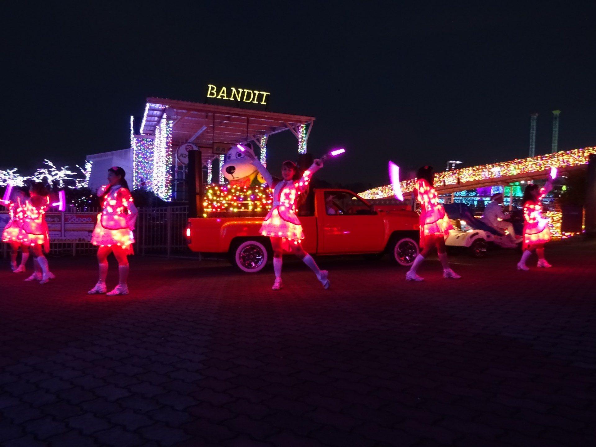 Light on dance