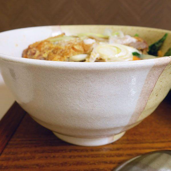 豬排丼(カツ丼)大深碗「ななほし(nanahosi)食堂」