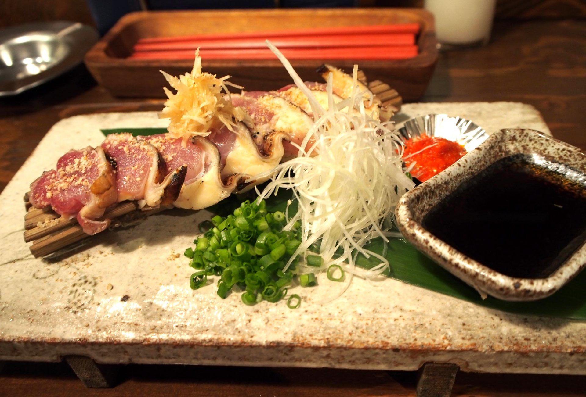 炭火烤土雞腿肉   600日圓