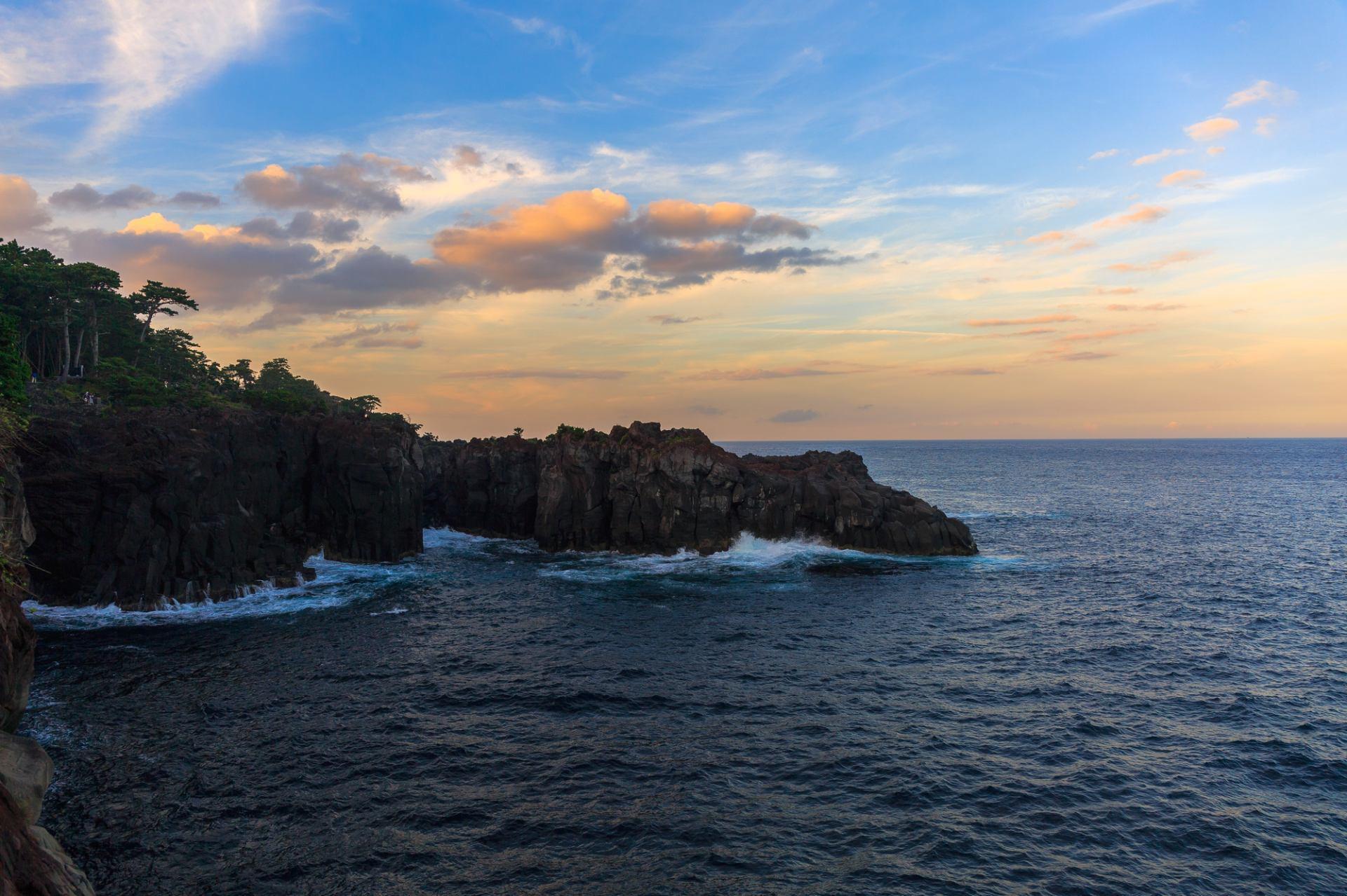 城崎海岸、懸崖峭壁、絕佳景色
