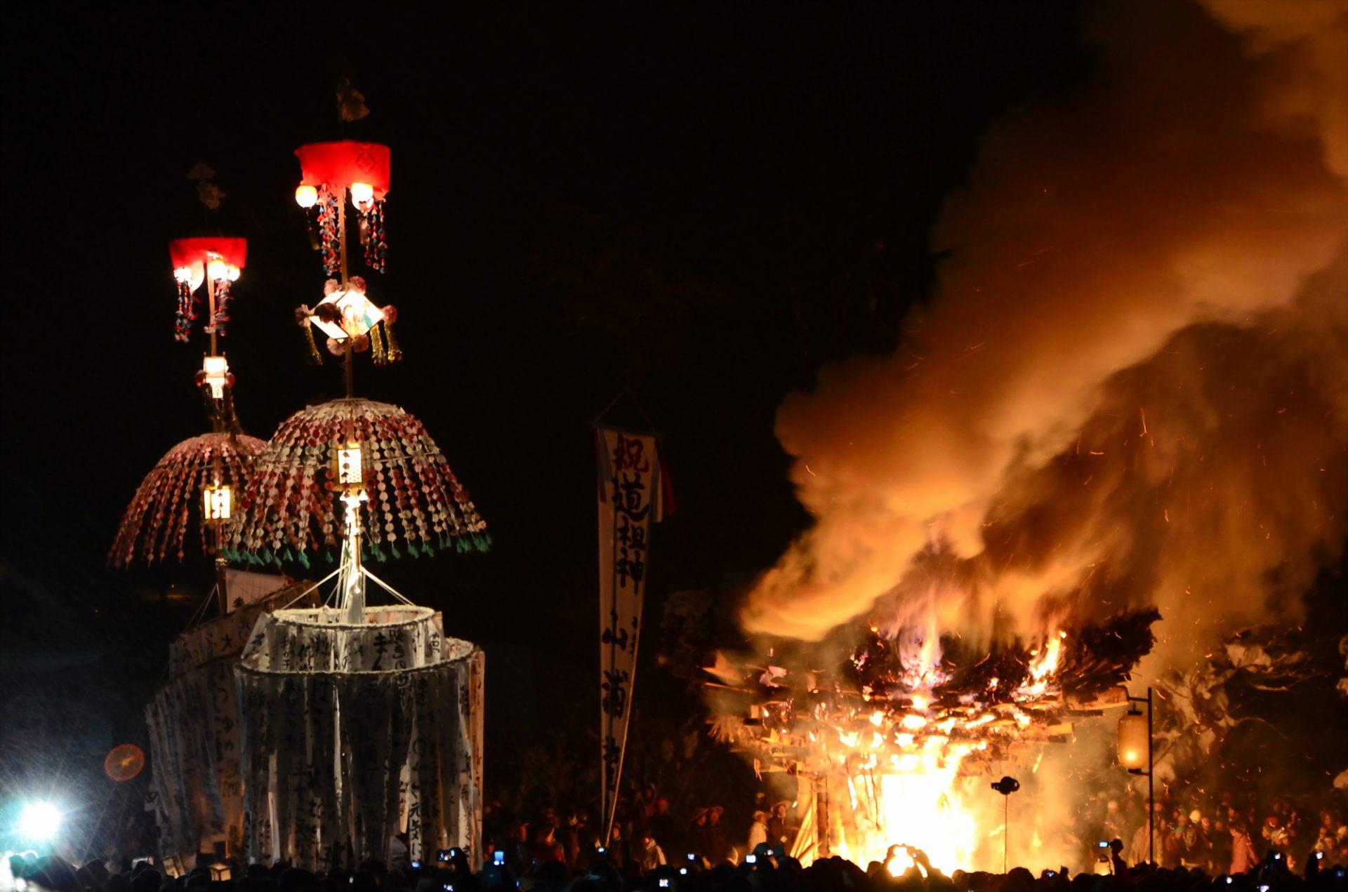 Nozawa Onsen's Dosojin Matsuri (Fire Festival)