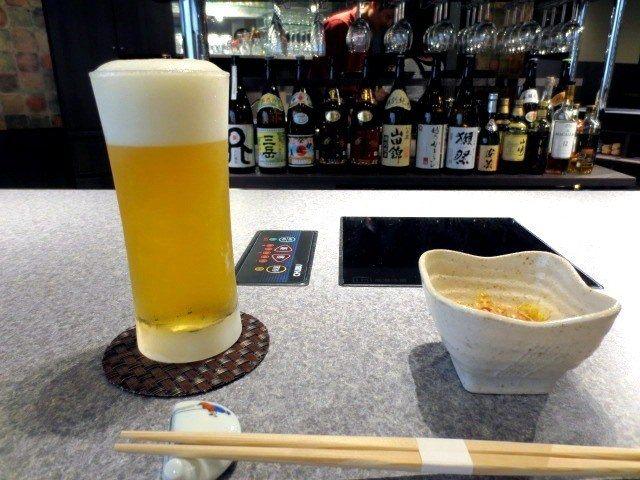 生啤(580日圓)