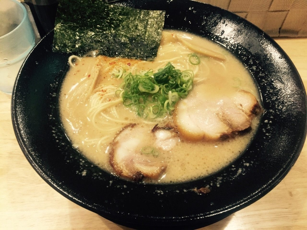 「福島壱麵」的招牌拉麵之一:「豚骨之鈴木」(700日圓)