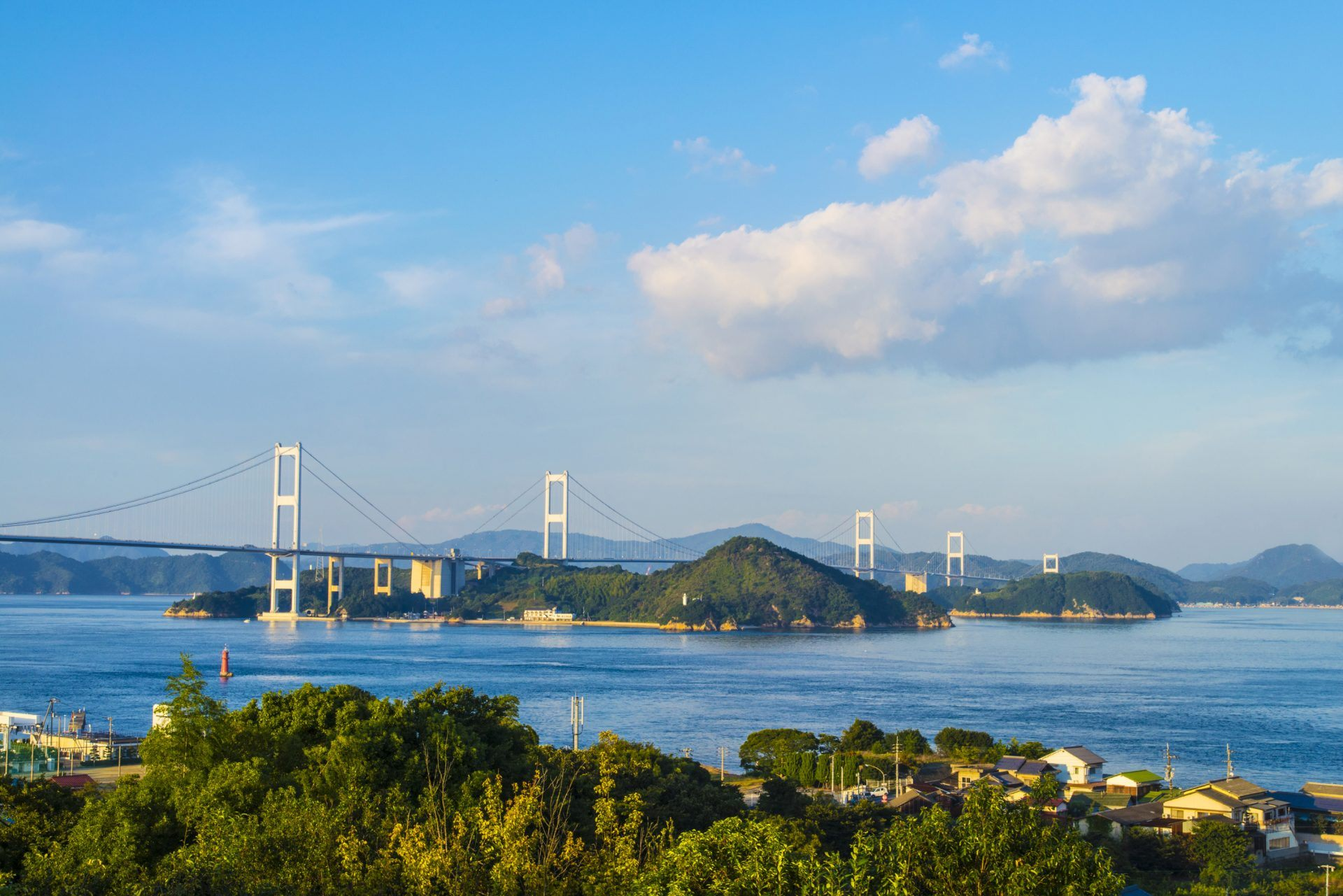 自行車、租借、兜風、島、西瀨戶自動車道、愛知、廣島