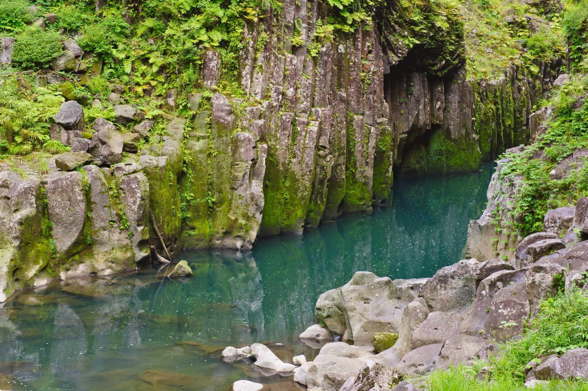峽谷、深綠、青綠、大自然、精神的、神話、傳說