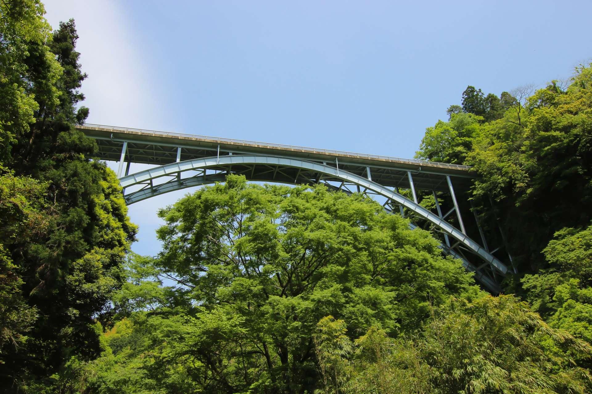 高千穂三橋、拱橋、高千穂三段橋