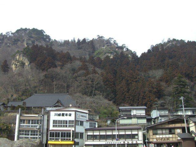 山寺 远景