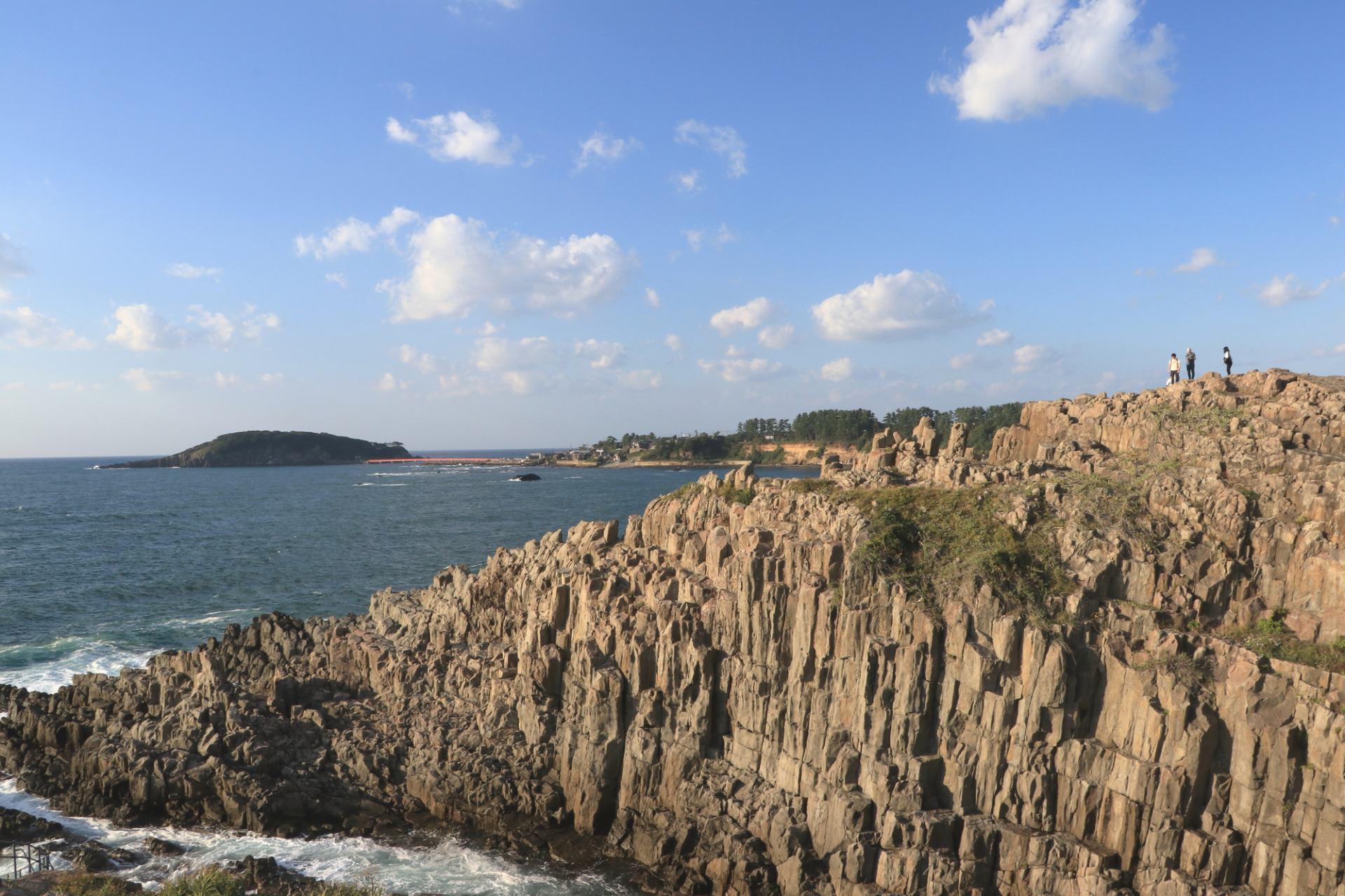 Tojinbo, Cliff, Natural Monument, Scenic Spot