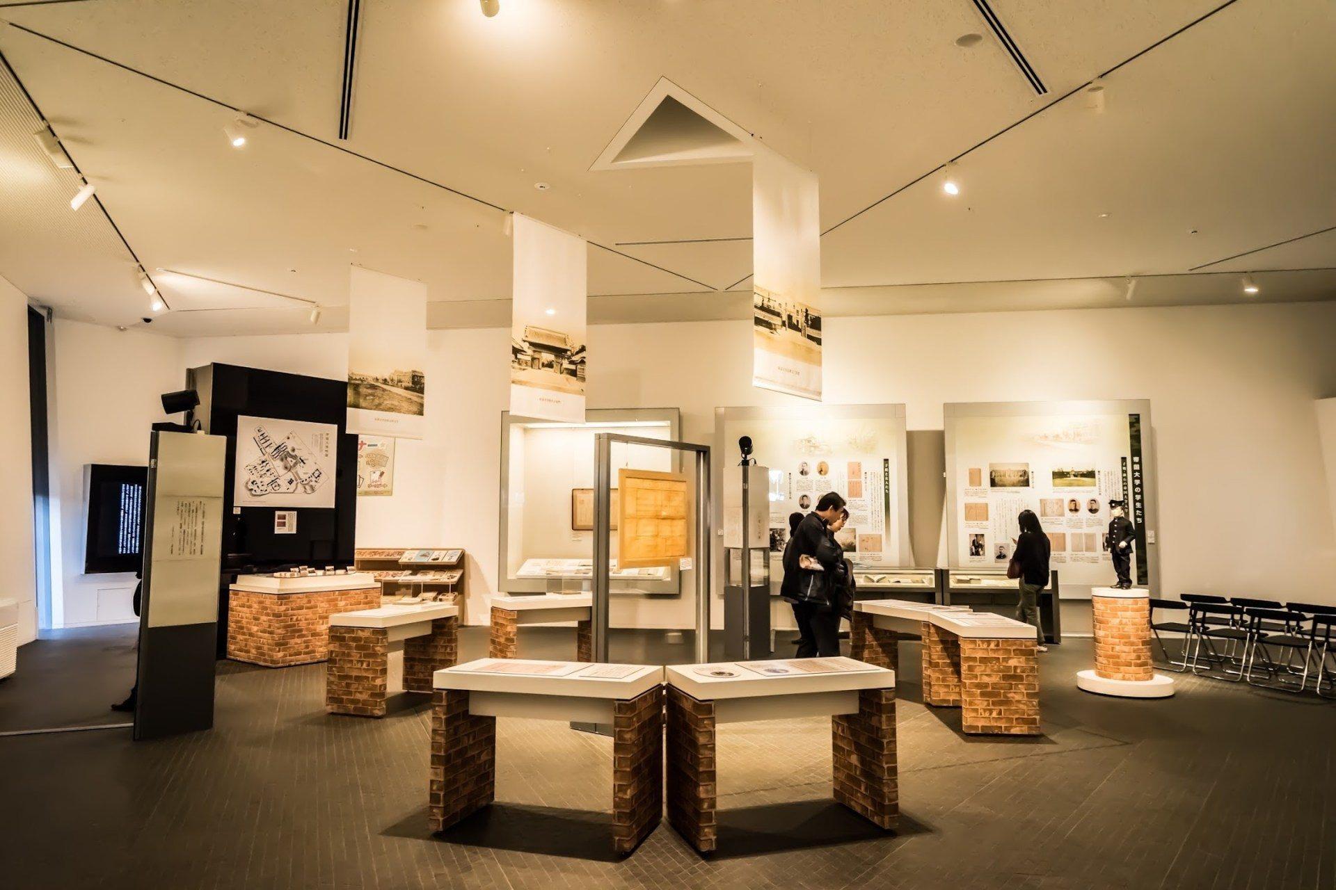 展示室「子規與帝國大學」