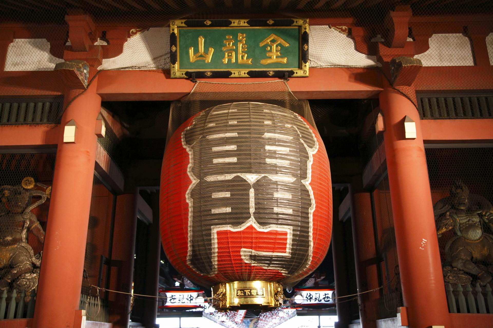 東京‧淺草的地標「雷門」