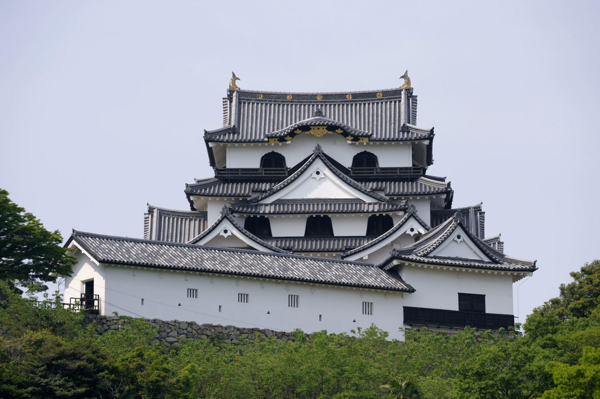 彦根城(滋贺县)、国宝