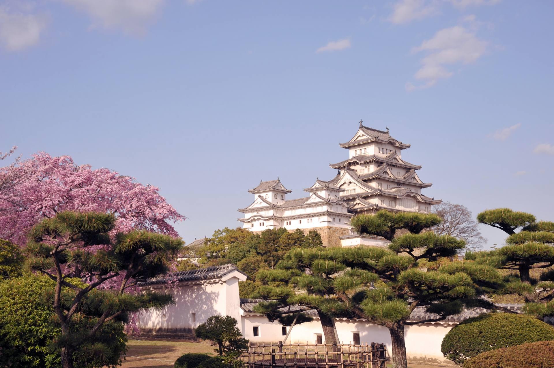 姫路城(兵庫縣)、國寶&世界文化遺產