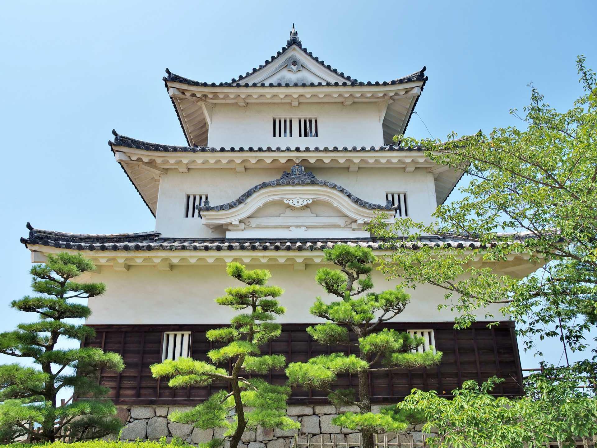 丸龟城(香川县)、重要文化财