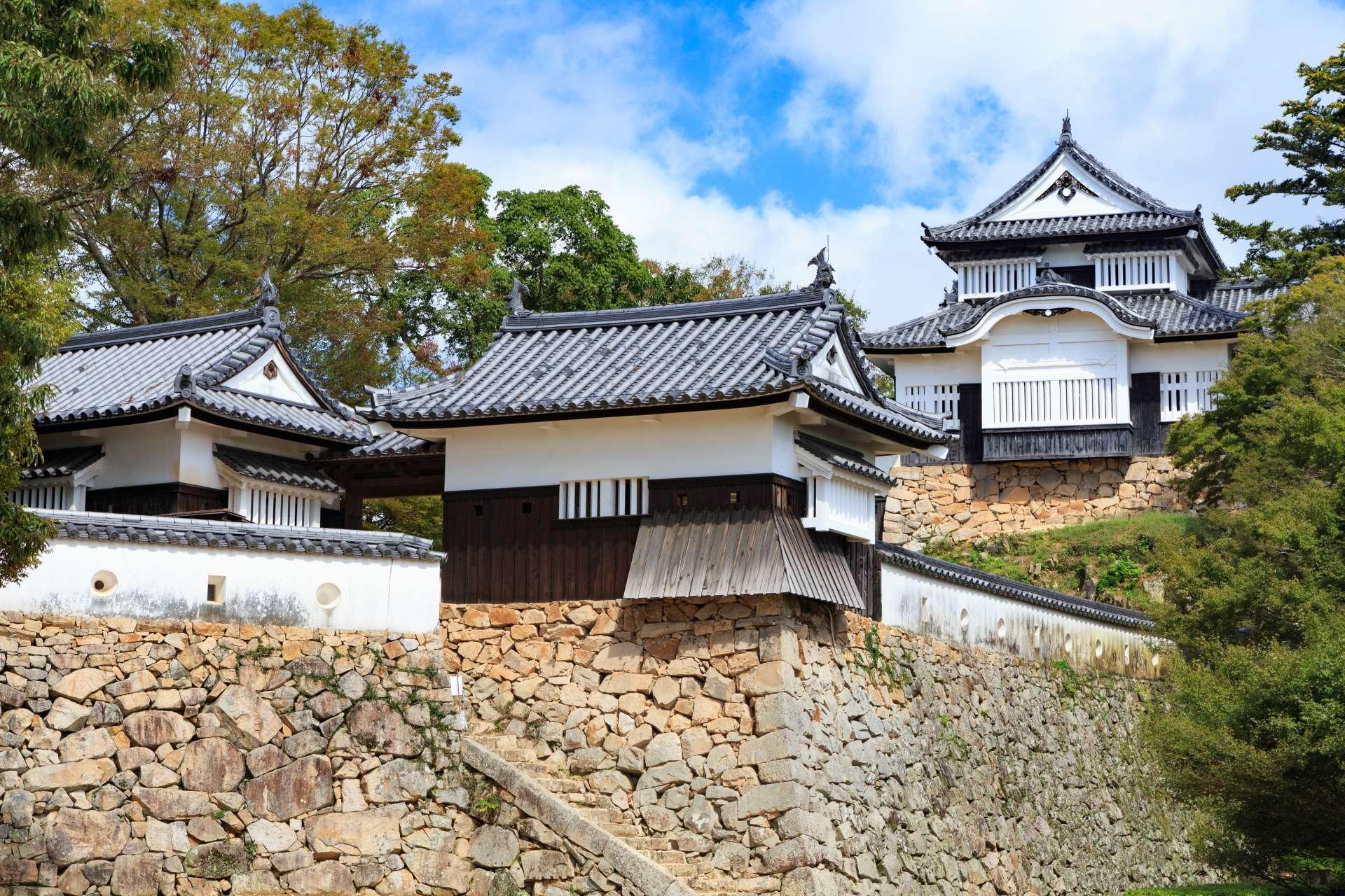 备中松山城(冈山县)、重要文化财