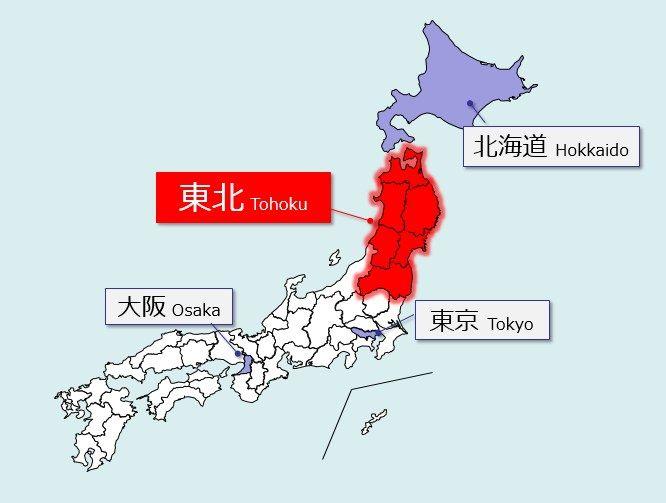 东北地区位置图