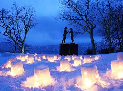 十和田湖 冬之物语