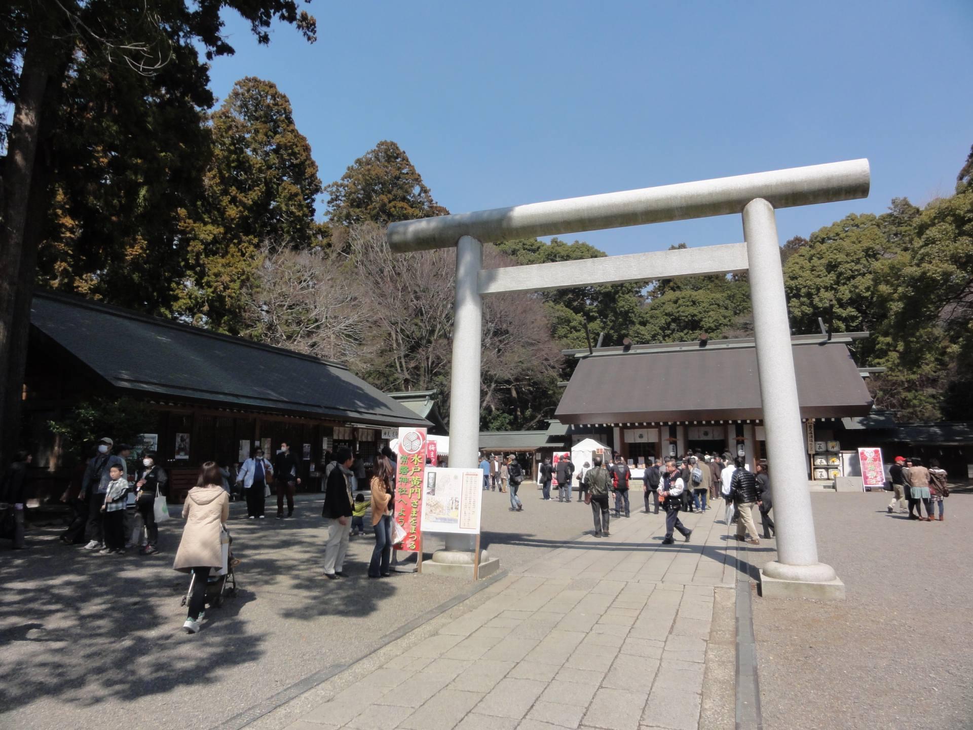 「常磐神社・義烈館」境內