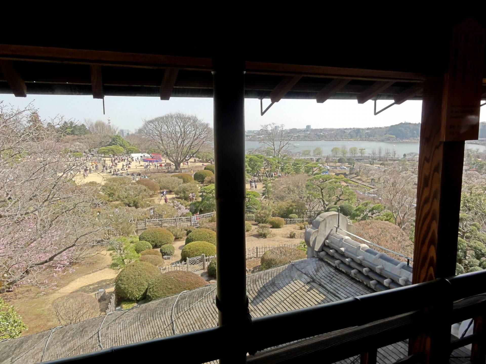 從好文亭的3樓眺望的景觀