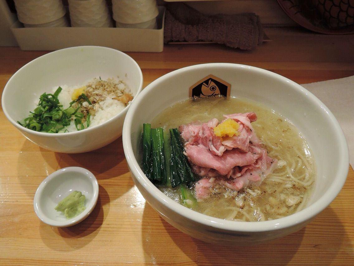 Madai Ramen and Zosui Set (1,000 yen)