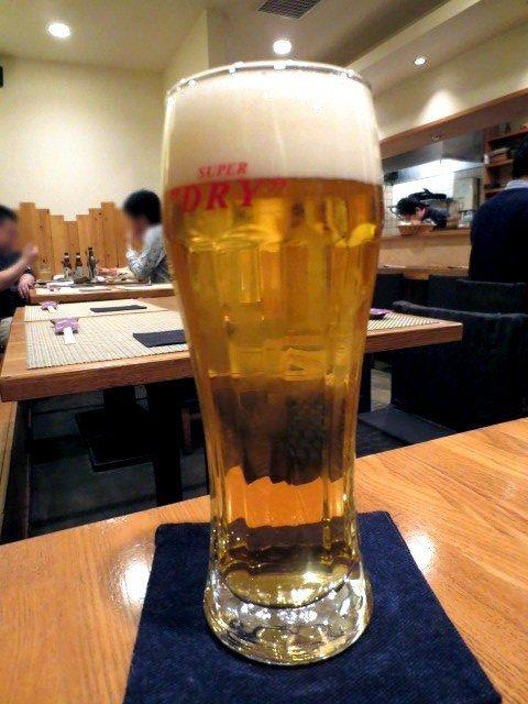朝日生啤酒 (Asahi Super dry)(450日圆)