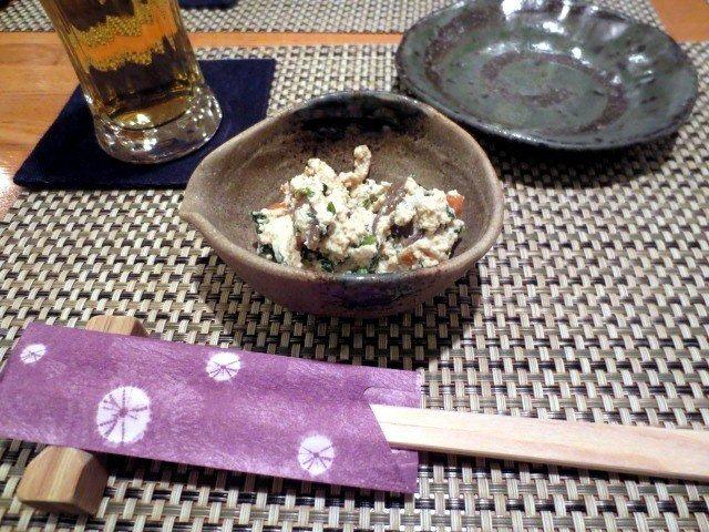 凉拌豆腐 (日文名称:おから和え)