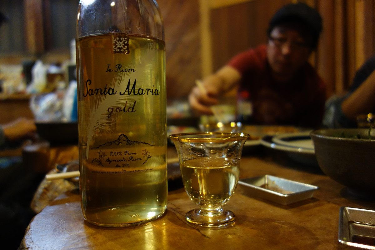「Ie Rum Santa Maria gold」