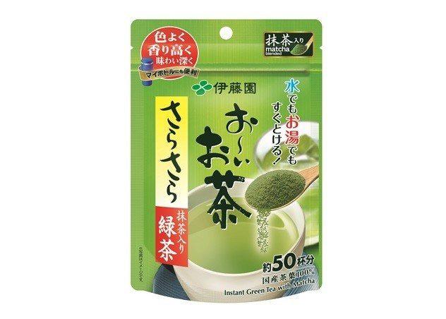 「お~いお茶(OIOCHA) 清爽抹茶綠茶粉」