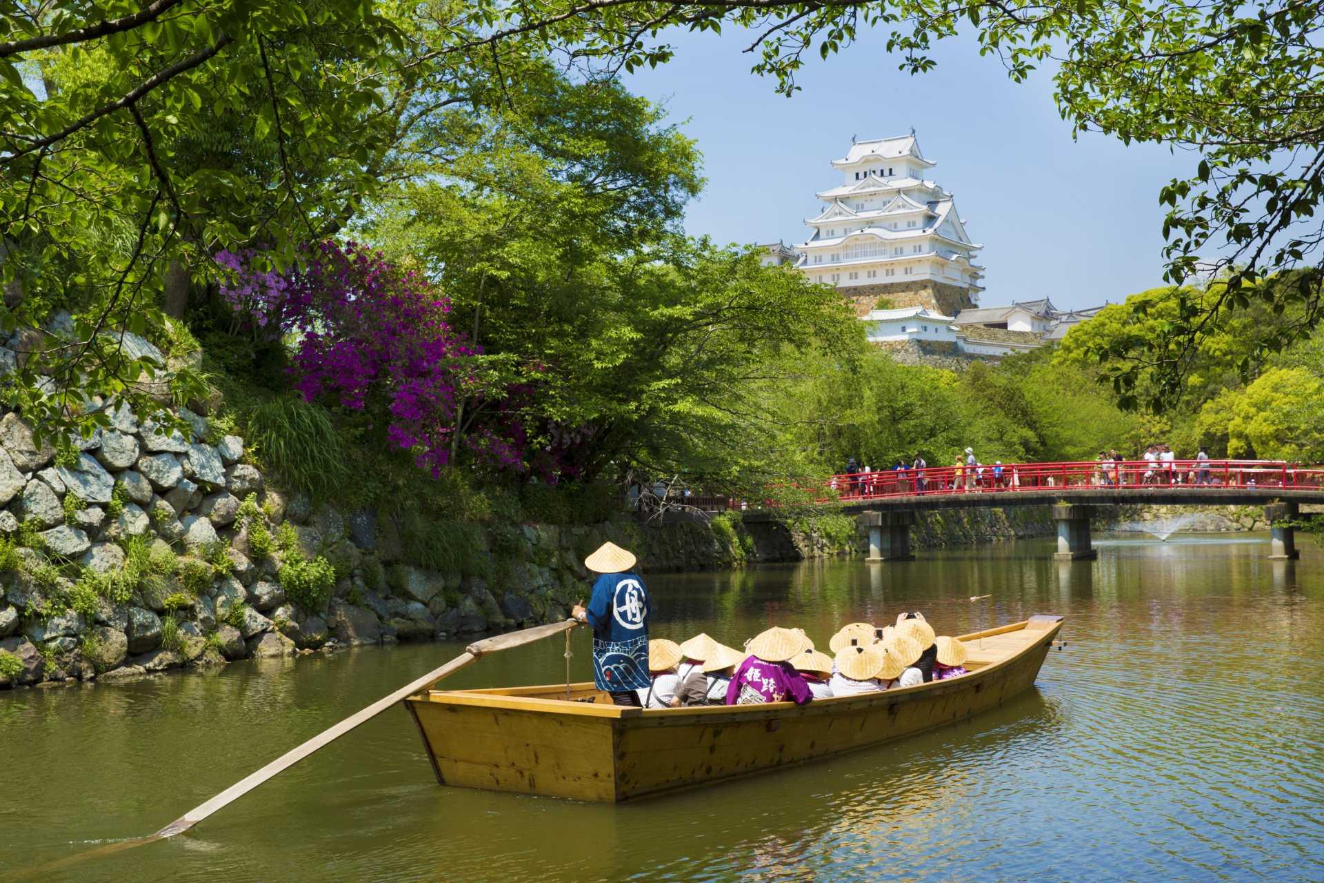 夏季的姬路藩文化观光学习船