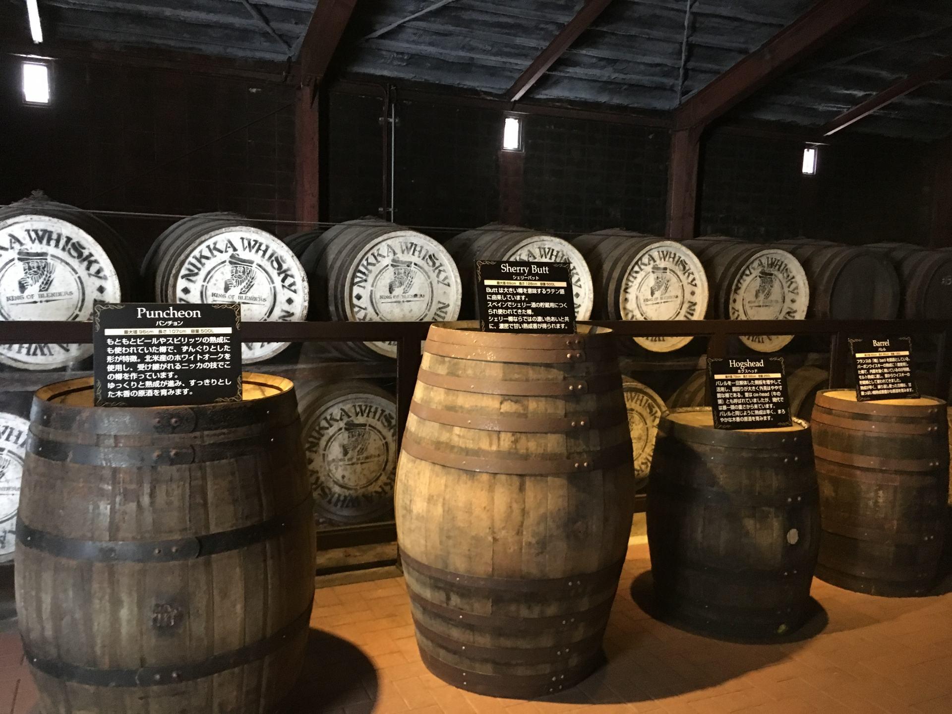 儲藏室的酒桶