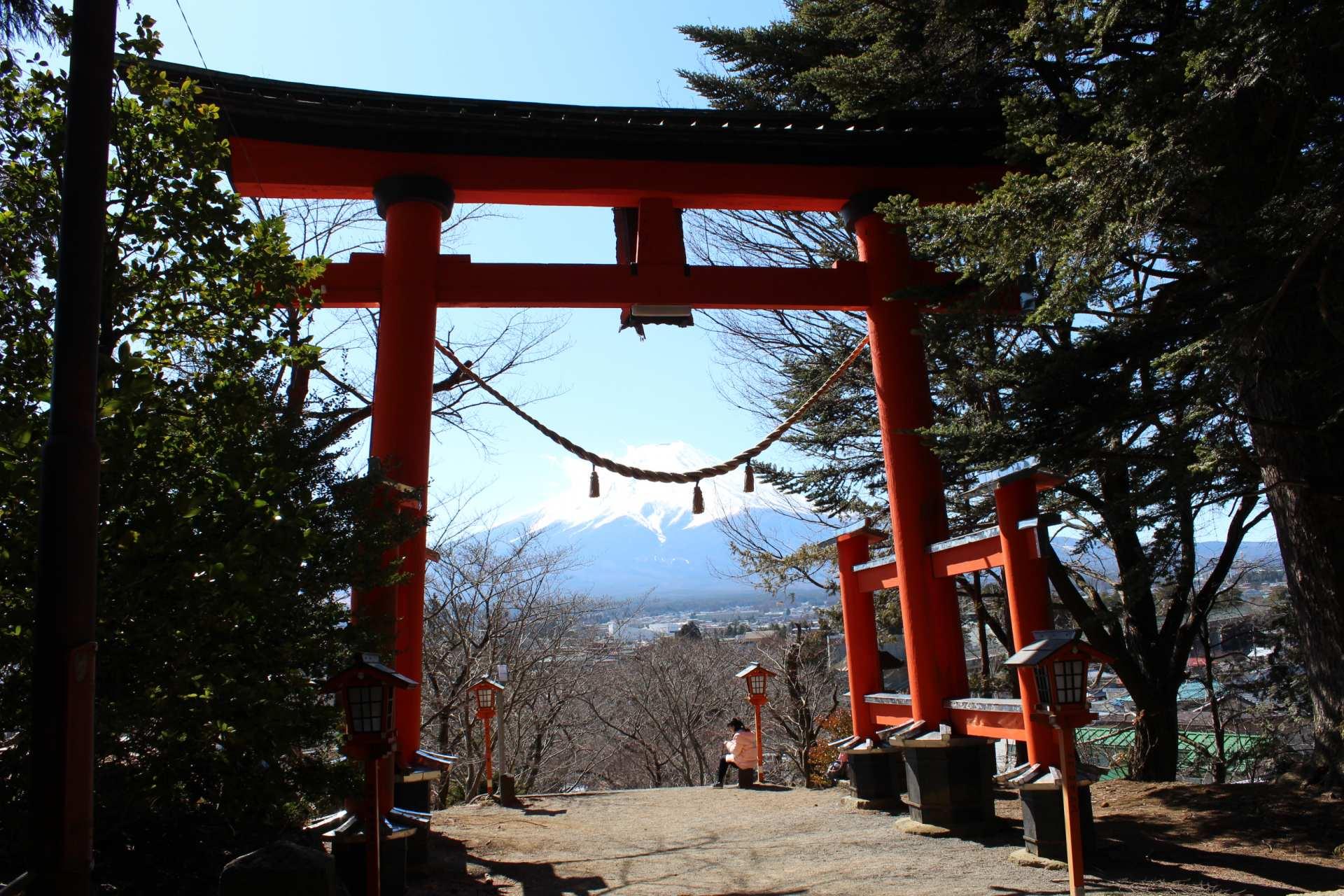 富士浅間神社·鳥居