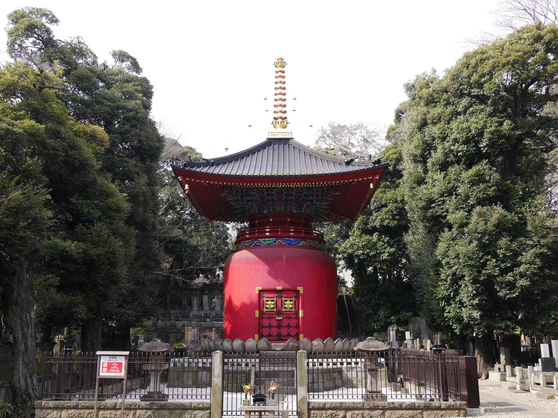 池上本门寺多宝塔