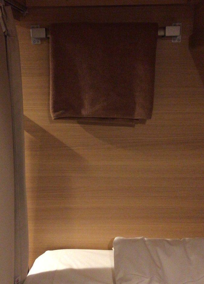 掛毛巾、毛毯的衣架