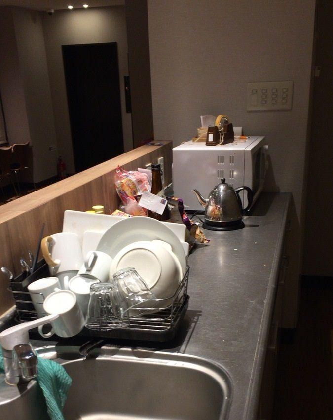 共用的廚房