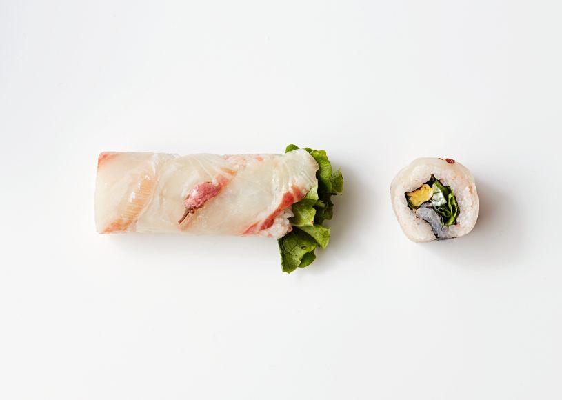 Madai ROLL -Sakura- (648 yen each)