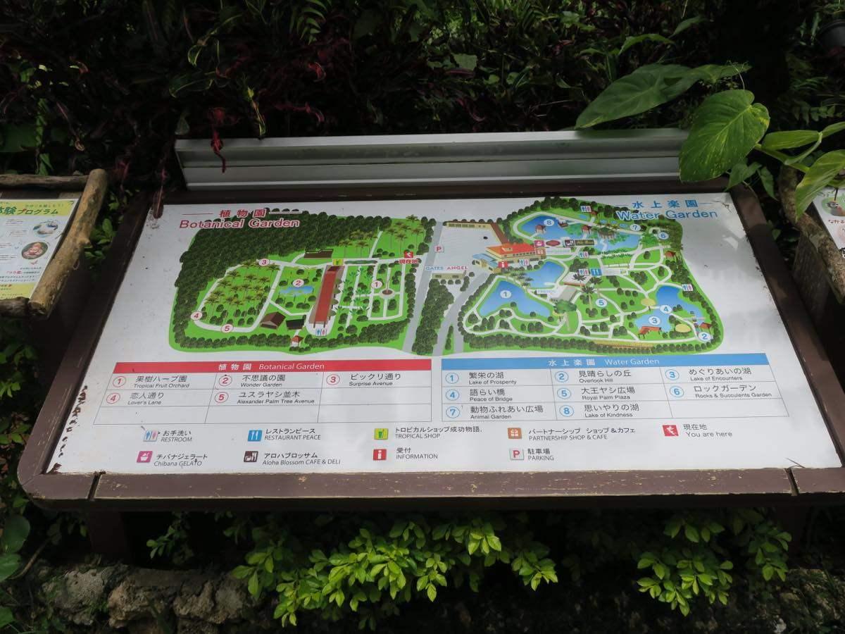園內有分成水上樂園和植物園兩個區域