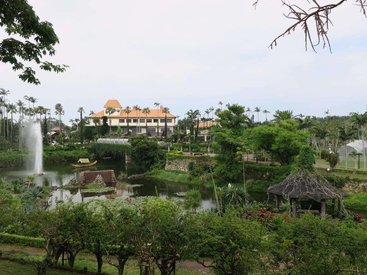 植物園的水塘