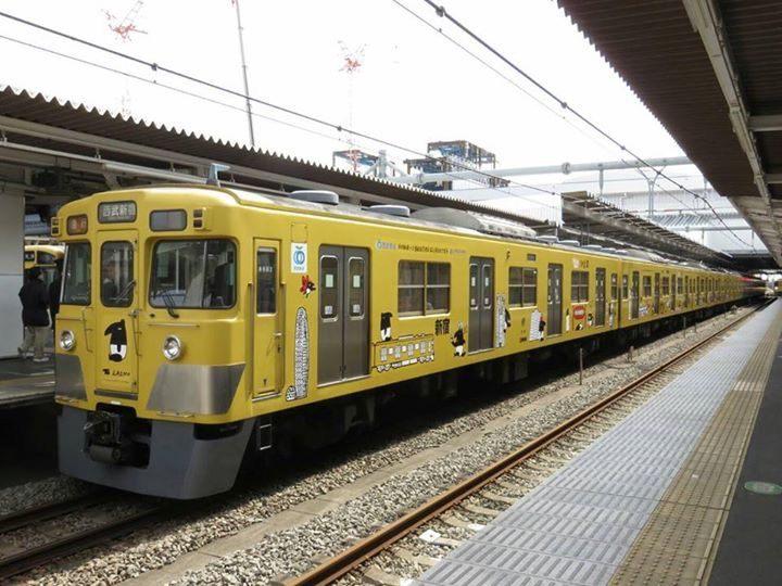 西武鐵道×台灣鐵路局紀念電車