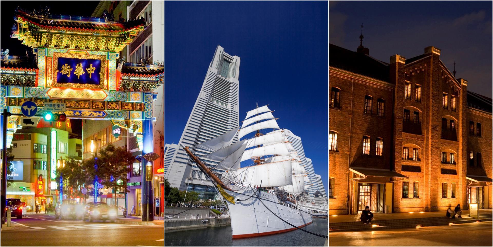 以横滨中华街为首,横滨有许多观光胜地