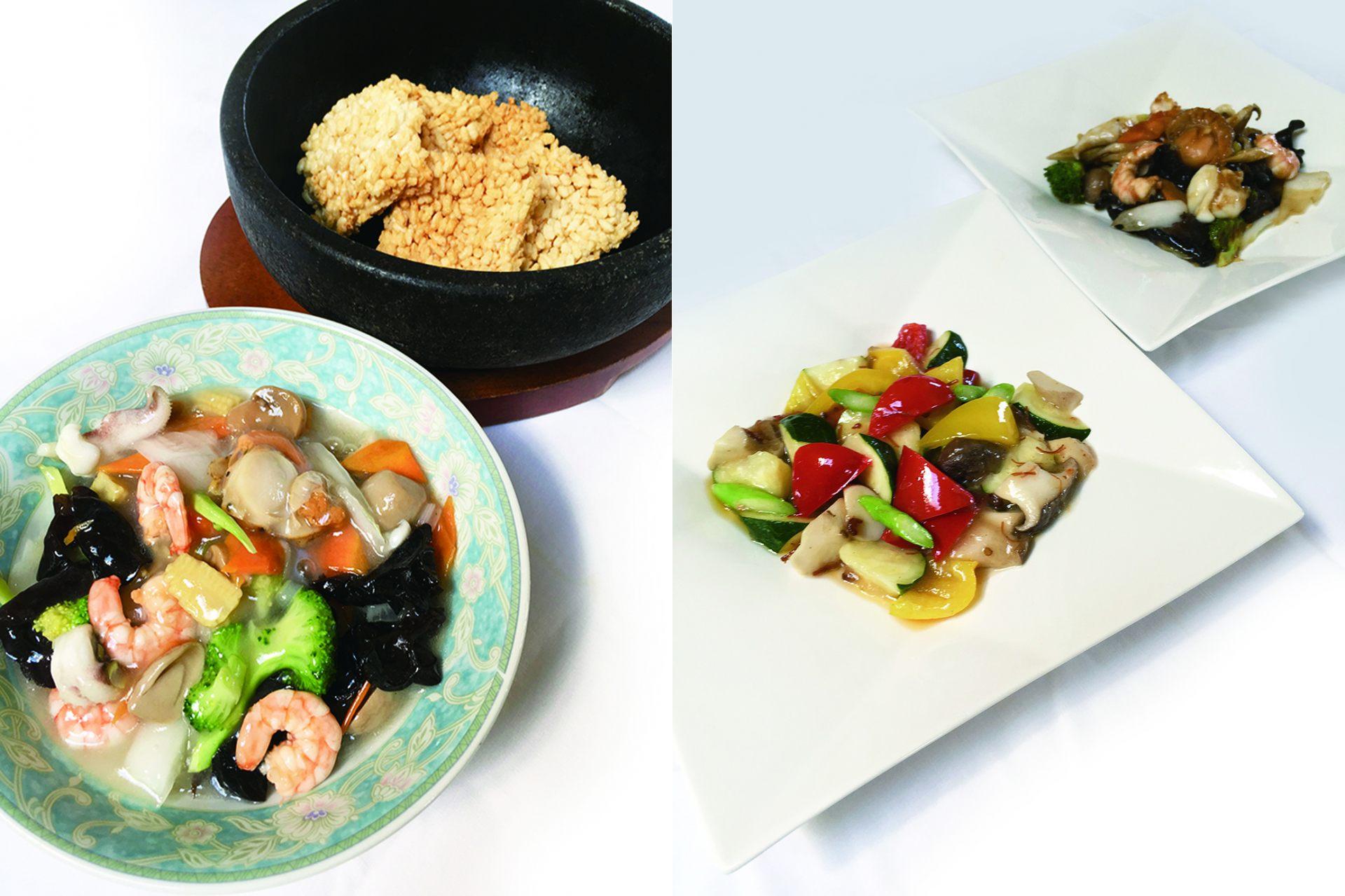 餐廳「こも(komo)」的各種美食