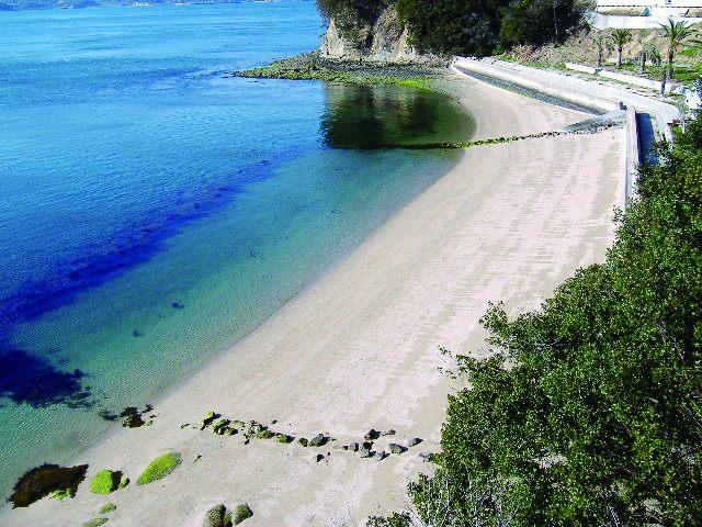 就像私人海灘一樣平靜的沙灘