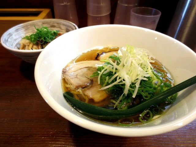 Chyuka Soba (¥700)Chamen* Don (small) (¥150) (¥250 dinner menu)