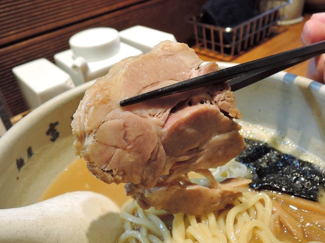厚實柔軟的叉燒肉
