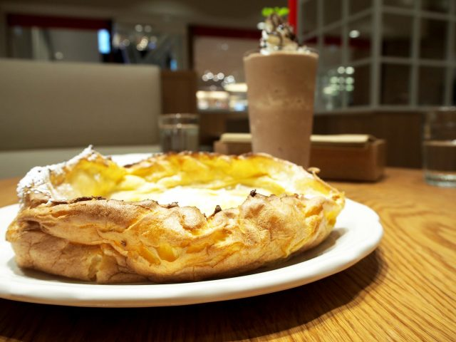 福冈·美式薄烤饼(英语:Pancake)【The Original PANCAKE HOUSE】,薄烤饼的进化系